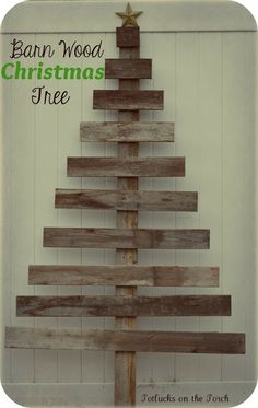 Barn Wood Christmas Tree I think this may be my tree for this year :)