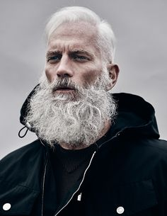 60 Grey Beard Styles For Men - Distinguished Facial Hair Ideas Beards And Mustaches, Moustaches, I Love Beards, Grey Beards, Awesome Beards, Mr Beard, Epic Beard, Beard No Mustache, Beard Styles For Men