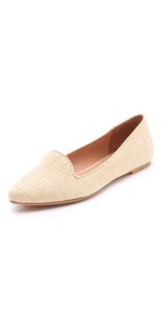 Joie Day Dreaming Raffia Loafers | SHOPBOP