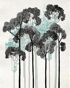 forest by yolanda