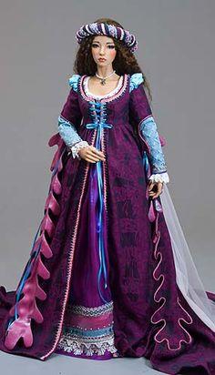 Katherina, Renaissance Lady Doll.