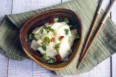 Simple Kohlrabi Tossed Salad   涼拌大頭菜