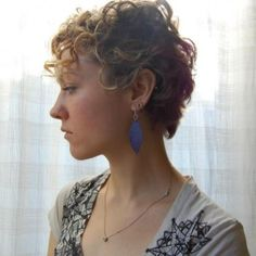 short and curly