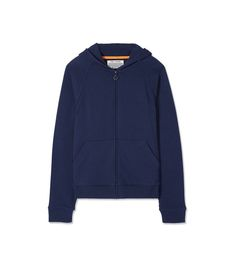 Tory Sport Cotton-cashmere Relaxed Hoodie