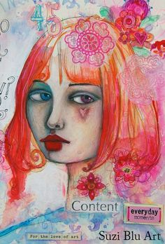 by suzi blu - love the different colored eyes