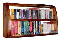 Wall Mounted Bookshelves Designs: Standard Wood Wall Mounted Bookshelves – Jaybean