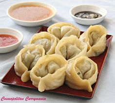 Nepali Mutton Momo (Dumplings) and Three Mouth-Watering Momo Dips