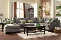 Custom Sectional Sofa (Nicole Collection)