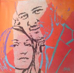 I can paint your portrait on canvas in 3 hours. #Hourlie on #PeoplePerHour.