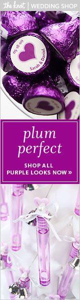 Purple Kisses w/ personalized sticker