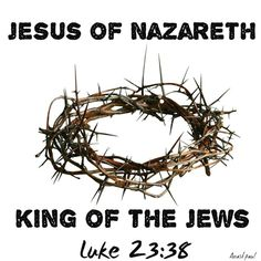 """One Minute Reflection – November 20 #pinterest #christtheking #popebenedict Jesus of Nazareth, King of the Jews ……………..Luke 23:38 REFLECTION – But in what does this """"power"""" of Jesus Christ the King consist? It is not the power of the kings or the great people of this world; it is the divine power to give eternal life,.#mypic"""