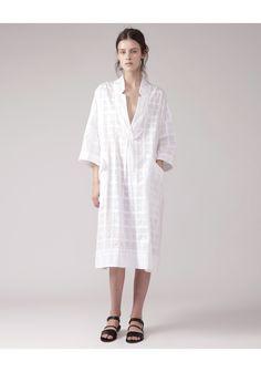 Rachel Comey / Dune Dress, white minimalist #minimalist #fashion