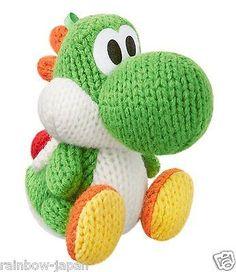 Yoshi Green Amigurumi amiibo for Nintendo Official figure Wool World JAPAN
