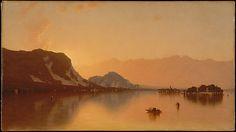 Sanford Robinson Gifford (American, 1823–1880). Isola Bella in Lago Maggiore, 1871. The Metropolitan Museum of Art, New York. Gift of Colonel Charles A. Fowler, 1921 (21.115.1)