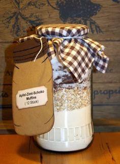 Kreative Ideen rund ums Basteln, Scrapbooking , Kochen und Backen: Backmischung im Glas Teil 1