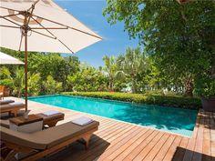 Christie Brinkley's Caribbean Beach House: Pool Deck