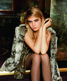 Behold: The Entire Cara Delevingne Topshop Holiday Campaign is Here - Fashionista