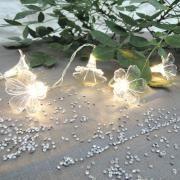 Guirlande lumineuse solaire 30 LEDs | déco tente | Pinterest | Flowers