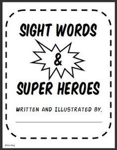 Classroom Freebies: Sight Word Super Stories