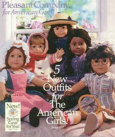 I could happily do an entire board on American Girl. Hands down my most beloved toy of my childhood. #90s