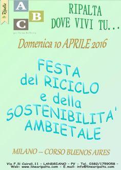 DOMENICA 10 APRILE 2016 RIPALTA DOVE VIVI TU...