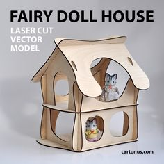 Fairy doll house by cartonus.deviantart.com on @DeviantArt