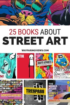 25 Street Art and Graffiti Books: Delve Into the Artists & the Art They Make - Book and Coffee Graffiti Books, New York Graffiti, Graffiti Alphabet, Street Art Graffiti, True Crime, Banksy Art, Best Street Art, Principles Of Art, Albrecht Durer