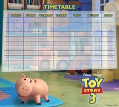 Walt Disney, Disney Pixar, Toy Story 3, Anime Reviews, Toys, Prints, Movies, Printables, School