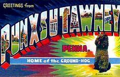 Chronically Vintage: Happy vintage Groundhog Day wishes!