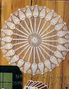 Materiales gráficos Gaby: Carpeta en crochet