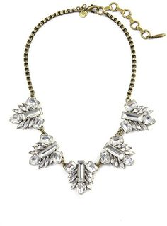 Love this: Pippa Bibb Necklace Crystal @Lyst