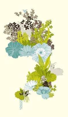 Beautiful botanicals from Red Bean Design on the Red Parka blog