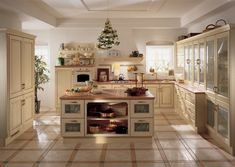 Fitted kitchen BELVEDERE by Scavolini
