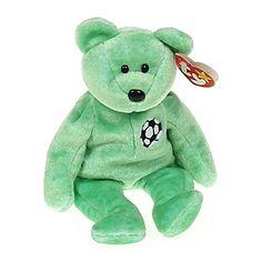 f78baed5df2 Ty Beanie Babies Kicks - Soccer Bear