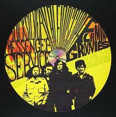 Quicksilver Messenger Service, Flamin Groovies Kaleidoscope, Hollywood CA 4/19/1968 Artist: Dick Dahlgren