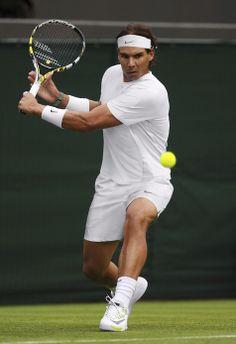 Tenue Nike de Rafael Nadal pour l'édition 2014 de Wimbledon.