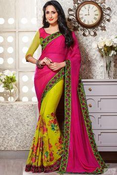 Irresistible Designer Printed Saree | Chiffon Saree | Net Printed Saree #sarees, #netsarees, #chiffonsarees, #designersarees, #partywearsarees