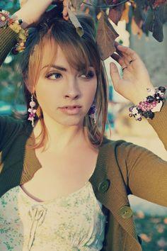 Jewelry Photoshoot with Natasha Komoda by Lia Saunders, via Behance
