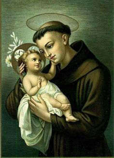 Sant'Antonio con Gesù Bambino