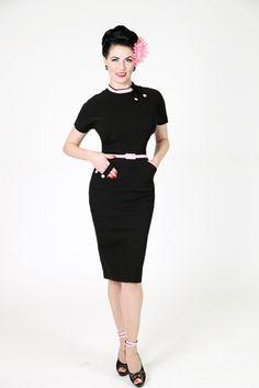 'Angelina' - Retro Vintage 30's Bettie Page Dress   atomretro.com