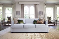 8 Luxurious Modern Sofas By The Sofa and Chair Company | Velvet Sofas. Leather Sofa. #modernsofas #leathersofa #livingroomideas Read more: http://modernsofas.eu/2016/09/09/luxurious-velvet-sofas-sofa-chair-company/
