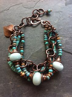 Turquoise & copper