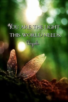 You are. Please let your light shine. ♥ #Free2Luv