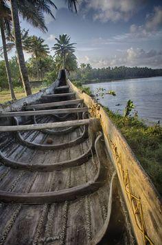 INDIA: Kappil lake . Kerala