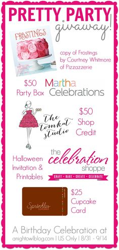 Pretty Party Giveaway!