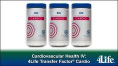 @ balancedimmunity.my4life.com Cardiovascular Health IV: 4Life Transfer Factor® Cardio