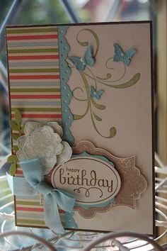 Such a pretty birthday card!  Everything Eleanor