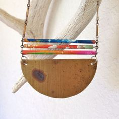 Bamboo Bars Necklace