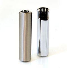 Chrome Clipper Lighters