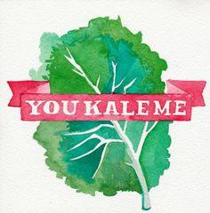 You kale me // Chromogenic Photographic Print